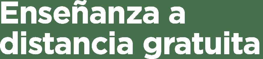 Auxilia Enseñanza a distancia gratuita
